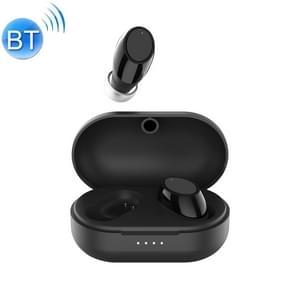 Air3 TWS V 5.0 draadloze stereo Bluetooth-headset met Oplaadetui  ondersteuning voor intelligent Voice (zwart)