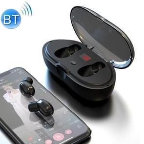 W23 TWS V 5.0 Bluetooth oortelefoon met Oplaaddoos  batterij display functie (zwart)