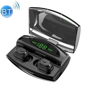 XG-20 TWS Bluetooth-oortelefoon met magnetische Oplaaddoos  ondersteuning voor geheugen verbinding & oproep & batterij weergave functie (zwart)
