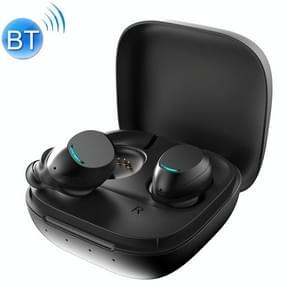 U9 TWS Bluetooth oortelefoon met magnetische Oplaaddoos  ondersteuning oproep & batterij weergave functie (zwart)