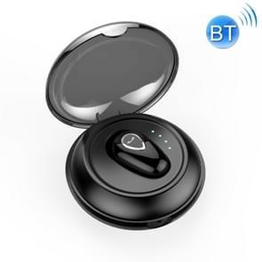 YX01 Zweetbestendige Bluetooth 4 1 draadloze Bluetooth-oortelefoon met Oplaaddoos  ondersteuning van geheugen verbinding & HD-oproep (zwart)