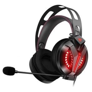 ONIKUMA M180 Pro Single plug licht instelbare gaming hoofdtelefoon met microfoon (zwart)