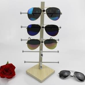 Eikenhouten bril display frame zonnebril rack display stand