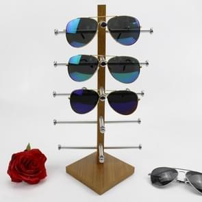 Graan houten bril display frame zonnebril rack display stand