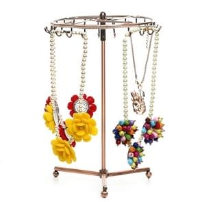 Retro Rotatable Scarf Bracelet Pendant Necklace Jewelry Display Storage Rack