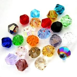 500pcs acryl transparant Crystal-achtige Rhombus losse kralen (kleur 6mm)