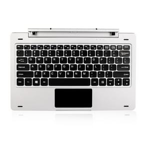 Tablet PC Magnetic Docking Hard Keyboard for Jumper EZpad 6(Silver)