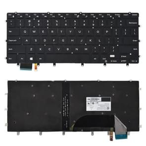 US Keyboard with Backlight for Dell xps 15 9550 9560 (Black)