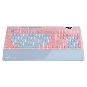 ASUS Strix flare Pink LTD RGB backlight bedrade mechanische rode schakelaar Gaming Keyboard met afneembare polssteun