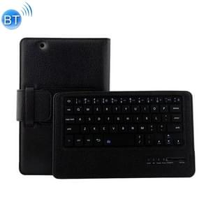 HW103M Detachable Plastic Bluetooth Keyboard + Litchi Texture PU Leather Protective Cover for Huawei MediaPad M3 8.4 inch, with Bracket (Black)
