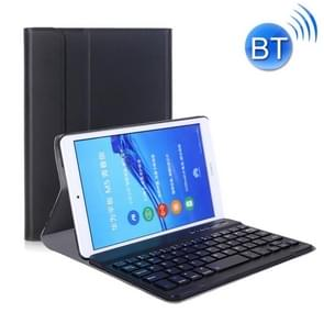 A0M5 Detachable Bluetooth Keyboard + Ultrathin Horizontal Flip Leather Case for Huawei MediaPad M5 & Honor Tab 5 8 inch, with Holder(Black)