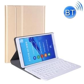 A0M5 Detachable Bluetooth Keyboard + Ultrathin Horizontal Flip Leather Case for Huawei MediaPad M5 & Honor Tab 5 8 inch, with Holder(Gold)