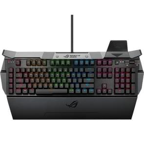 ASUS GK2000 RGB Backlight Wired Aluminum Alloy Mechanical Red Switch Keyboard with Adjustable Keyboard Palm Rest
