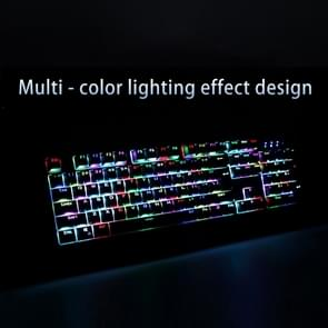 AULA Wings of Liberty Series RGB Light Backlit USB Wired Mechanical Axis Gaming Keyboard(Black)