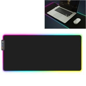MONTIAN kleurrijke LED licht verdikking Lock toetsenbord Pad spel muismat  grootte: 780 x 300 x 4 mm