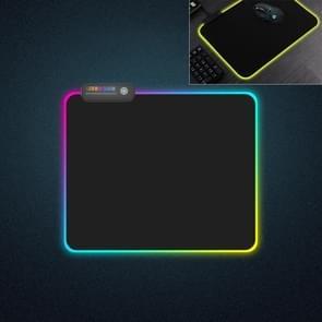 MONTIAN kleurrijke LED licht verdikking Lock toetsenbord Pad spel muismat  formaat: 300 x 250 x 4 mm