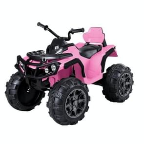 [Amerikaans pakhuis] LEADZM LZ-906 45Wx2 12V 7AHx1 ATV Double Drive Kinderauto rijden op auto zonder afstandsbediening (Roze)
