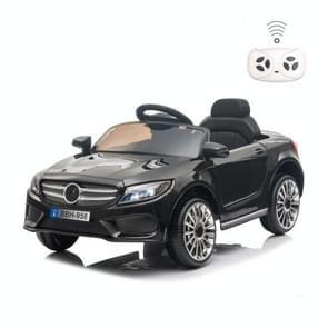 [Amerikaans pakhuis] LQ 12V Kids Double Drive 3 Speed 2 4 GHz afstandsbediening Ride On Car met LED-verlichting (Zwart)