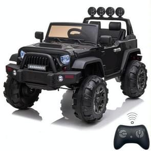 [US Warehouse] 12V Kids Ride On Car 2.4GHz Remote Control Double Drive SUV Off-Road Vehicle with MP3 & LED Lights (Black)