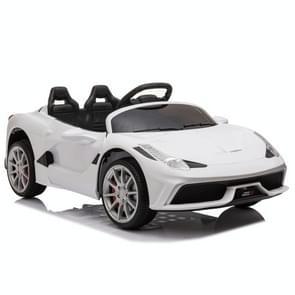 [US Warehouse] 12V Kids Ride On Car 2.4GHz Afstandsbediening Double Drive 3 Speed Sportwagen (Wit)