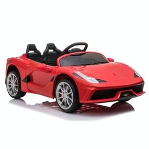 [US Warehouse] 12V Kids Ride On Car 2.4GHz Afstandsbediening Double Drive 3 Speed Sports Car (Rood)