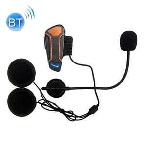 WT003 1000m IPX5 Waterproof Motorcycle 2 Users Full Duplex Talking Bluetooth Intercom Multi-Interphone Headsets, Support Receive Calling & Listen Music & Noise Reduction