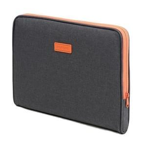POFOKO A220 Series 15 6 inch waterdichte polyester laptoptas  maat: 41 5 x 28 5 x 2 5 cm (donkergrijs)