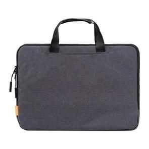 POFOKO A300 13 inch Portable Business Casual Polyester Laptop Bag(Dark Gray)