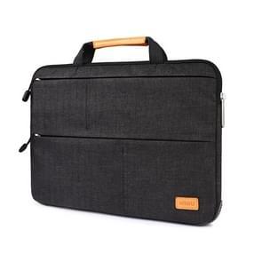 WIWU 15 4 inch waterdichte Smart stand Sleeve beschermhoes voor laptop (zwart)