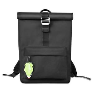 WIWU 15.6 inch Large Capacity Fashion Leisure Sports Backpack Travel Laptop Bag(Black)