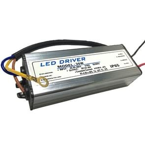 20W LED Driver Adapter AC 85-265V to DC 24-38V IP65 Waterproof