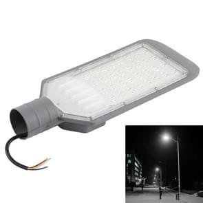 30W IP65 Waterproof Outdoor LED Street Light, 6500K 2700 LM 32 LEDs SMD 2835 LED Flood Light, AC 85-265V(White Light)