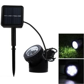 Single Head LED Outdoor Waterproof Solar Underwater Spotlight Floodlight