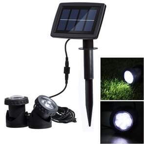 Two Heads LED Outdoor Waterproof Solar Underwater Spotlight Floodlight
