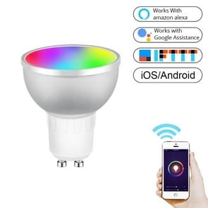GU10 5W RGB Dimming WIFI Smart LED Light Bulb Energy Saving Light (Colorful Light)