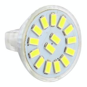 MR11 15 LED's 5730 SMD LED Spotlight  AC / DC 12-30V(Wit licht)