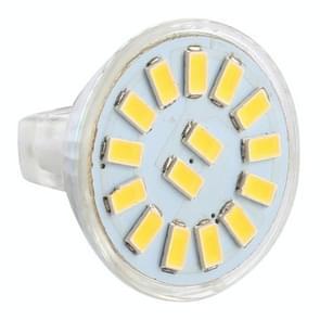 MR11 15 LED's 5730 SMD LED Spotlight  AC / DC 12-30V(Warm Wit)