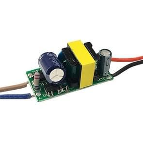 4-7 W LED-stuurprogrammaadapter geïsoleerde voeding AC 85-265V naar DC 12-26V