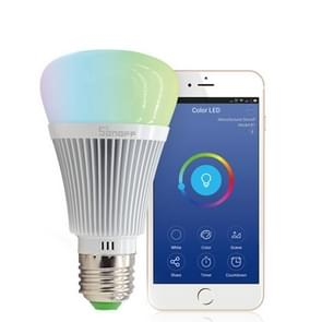 Sonoff B1 E27 Port 6W Dimmable White + RGB LED Smart Light Bulb, 600LM eWelink Phone APP WiFi 2.4GHz, Support Alexa Echo & Google Home Voice Control, AC 90-250V
