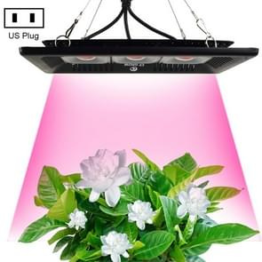 150W IP65 Waterproof COB LED Plant Growth Light, 10000-12000LM 380-800NM Greenhouse Light Aquarium Light, PF>0.9, AC 90-140V, US Plug