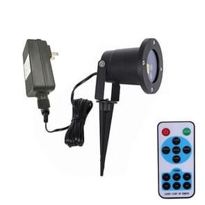 Draaibare USB-oplaad projectie licht Dubbelgaats Laser fase licht