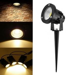 LED 5W 12V COB gazon Llamp 43mm buitenwater dichte tuin landschap verlichting Tree Lights (warm wit)