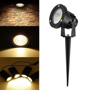 LED 5W 85-265V COB gazon Llamp 43mm buitenwater dichte tuin landschap verlichting Tree Lights (warm wit)