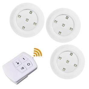 5W 3 x COB nacht licht 5 LEDs wand lamp met afstandsbediening