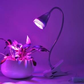 5W Roodlicht + blauwe lichte flexibele Lamp houder Clip stijl LED Plant groei-Light  5 LEDs 360 graden broeikasgassen licht Aquarium licht  AC 85-265V