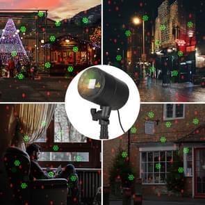 Blinblin CMF-A103 3W IP65 Waterproof ABS Shell Landscape Light, Dynamic Red + Green Laser Mini Outdoor Lamp