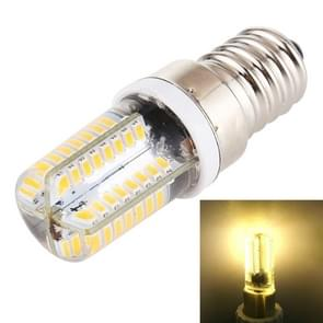 E14 SMD 3014 64 LED's Dimbare LED Corn Light  AC 220V (Warm White)