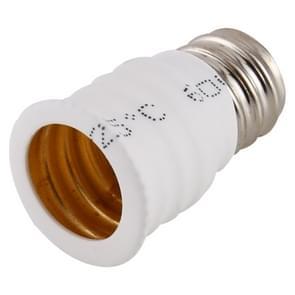 E12- tot E14-lampenadapteromvormer (wit)