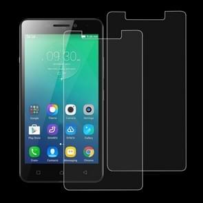 2 stuks 9H 2.5D getemperd glas Film voor Lenovo Viber P1m