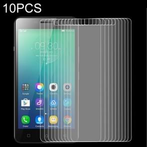 10 stuks 9H 2.5D getemperd glas Film voor Lenovo Viber P1m